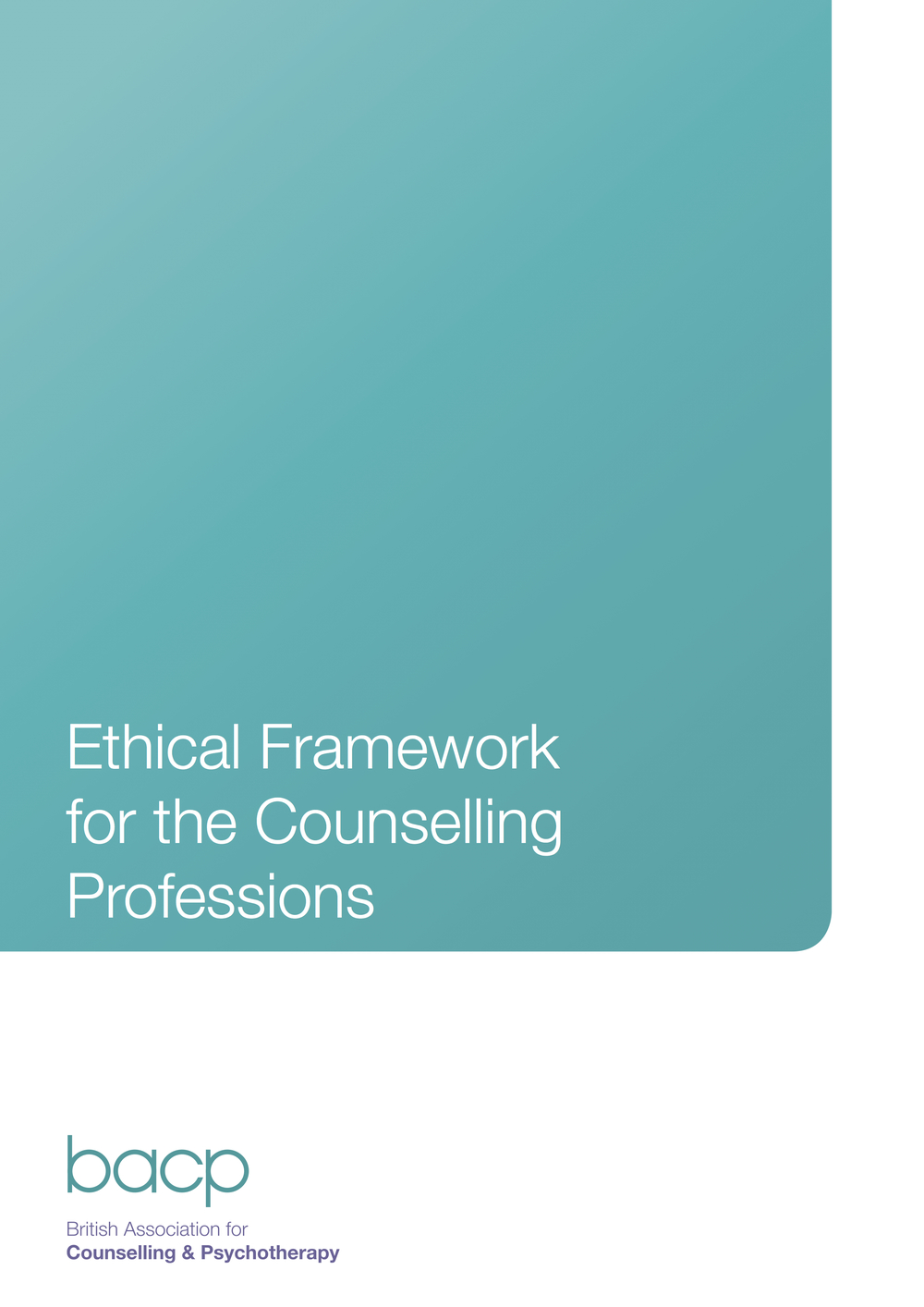 bacp ethical framework picture for page
