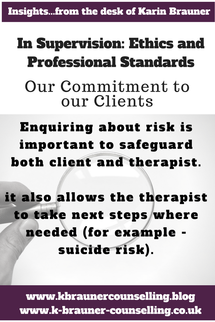 part 3 in supervision our commitment to clients