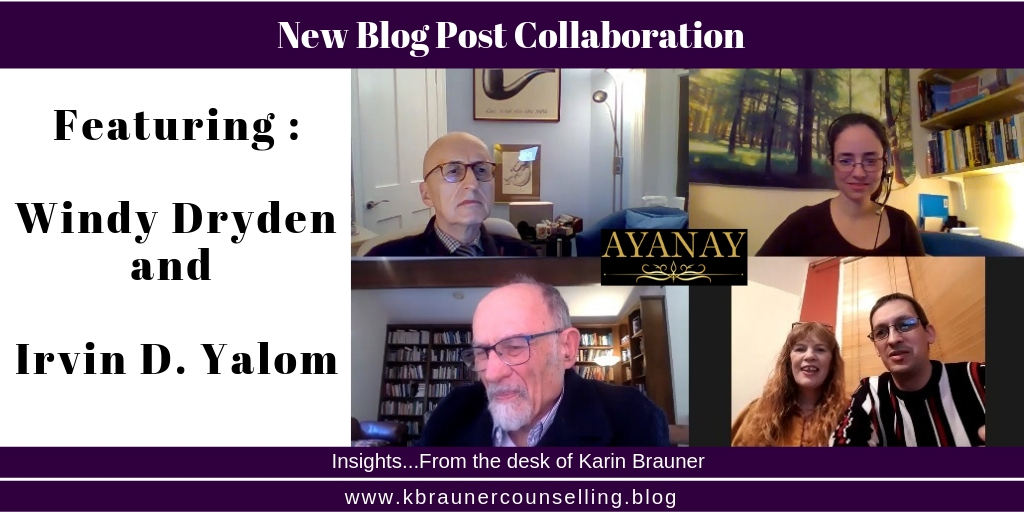 twitter - Ayanay Windy Dryden and Irvin D Yalom Blog Post